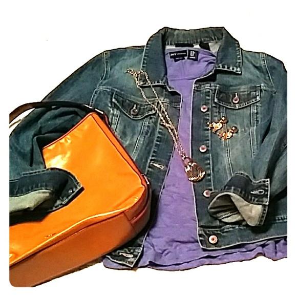 New York & Company Jackets & Blazers - New York and Co. Denim Jacket